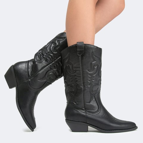 Western Cowboy Lasso Boot