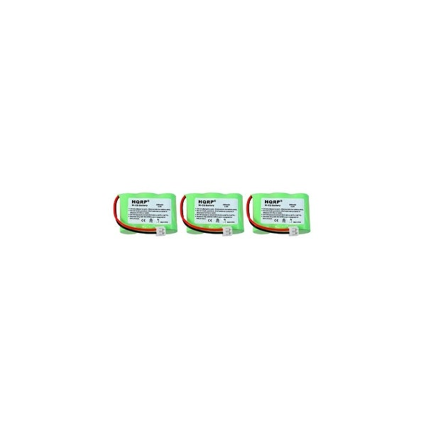 Replacement VTech T2734 / 80-5074 NiMH Cordless Phone Battery - 400mAh / 3.6V (3 Pack)