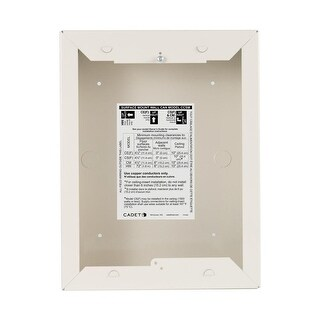 Cadet CCSM Surface Mount Wall Can Adapter for the Com-Pak and Com-Pak Max Series