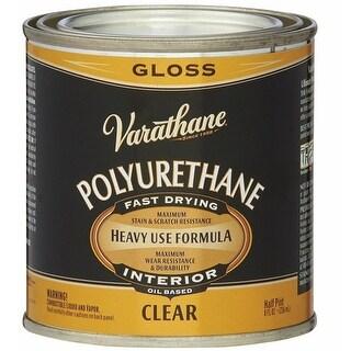 Varathane 9061H Premium Polyurethane, 1/2 Pint, Clear