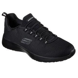 Skechers Men's Dynamight Low Top Shoes Black