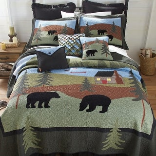 Link to Donna Sharp Bear Lake Quilt Set Similar Items in Quilts & Coverlets