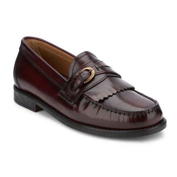 G.H. Bass & Co. Mens Wakeley Leather Kiltie Loafer Shoe