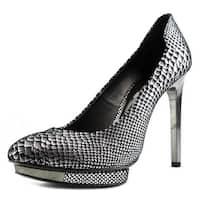 BCBG Max Azria Willoe Women Gunmetal Sandals