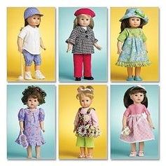 One Size Only - Doll Clothes For 18 (46Cm) Doll