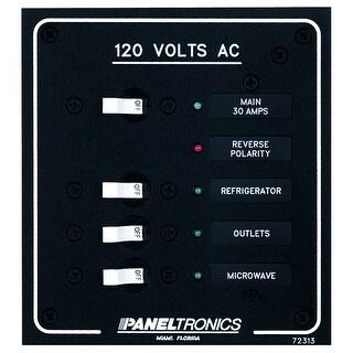 Paneltronics Standard Ac 3 Position Breaker Panel Main 9972313b