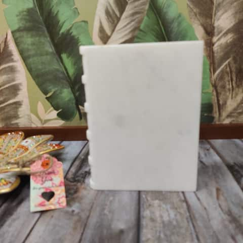 Journal Marble Bookend (Single Piece)