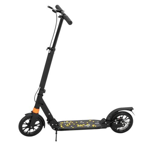 Scooter For Adult&Teens,3 Height Folding Double Shock Absorber