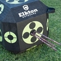 Elkton 18-Sided 3D Cube Archery Target Constructed with Rapid Self Healing XPE Foam Perfect Reusable Target for all Arrow Types - Thumbnail 3
