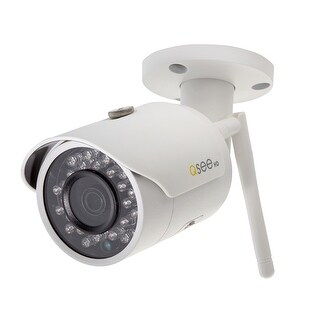 Q-See Wi-Fi 3MP Bullet Security Camera with 16GB Memory Card