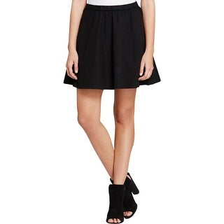 The Fisher Project Womens Flare Skirt Strethch Pull On