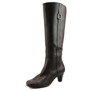 Aerosoles School Play Women  Round Toe Synthetic Brown Knee High Boot