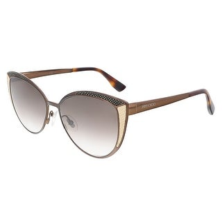 Jimmy Choo DOMI/S 0PTC Brown Cat Eye sunglasses