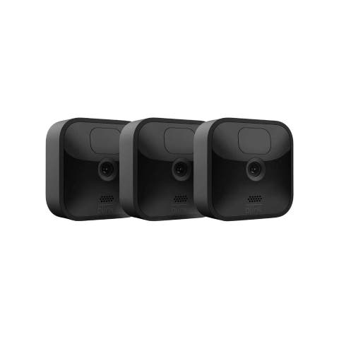 Blink Outdoor HD Security Wireless Camera - 3 Cam Kit - Black