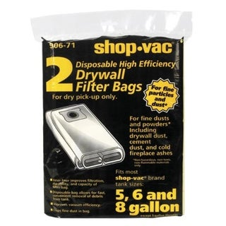 Shop-Vac 9067101 Disposable Drywall Filter Bag