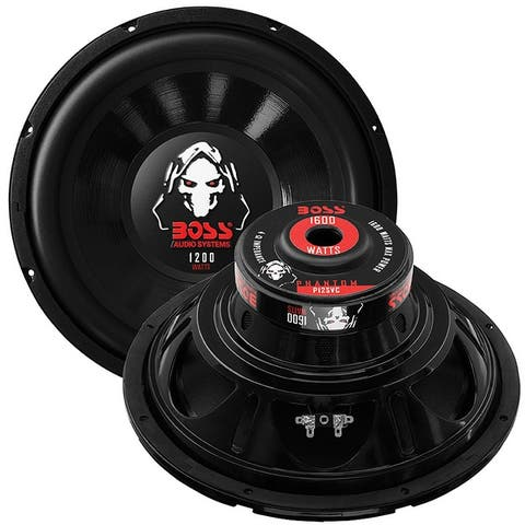 BOSS Audio Systems P10SVC 10 Inch Car Subwoofer - 1200 Watts Maximum Power, Single 4 Ohm Voice Coil (Pack of 2)