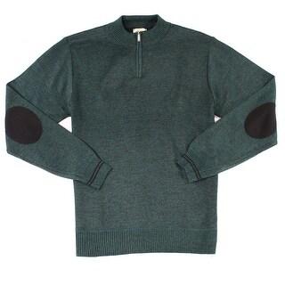 ECKO UNLTD. NEW Green Mens Size XL Pullover Knit Quarter Zip Sweater
