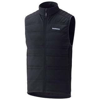 Shimano 2017/18 Men's Inculated Cycling Vest - CWJATWPS22YL - Black