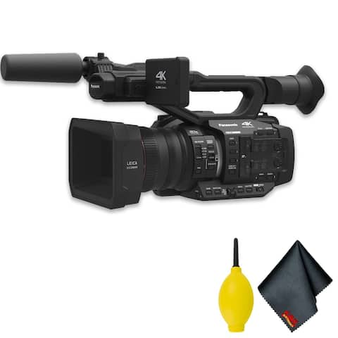PanasonicAG-UX180 4K Premium Professional CamcorderBasic Accessory Bundle