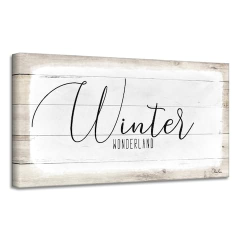 Ready2HangArt 'Winter Wonderland' Holiday Canvas Wall Art by Olivia Rose