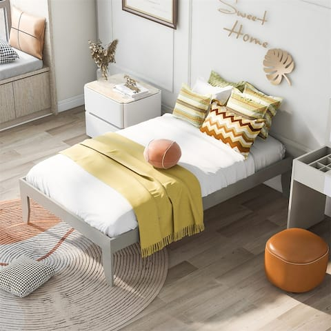 Merax Twin Platform Bed