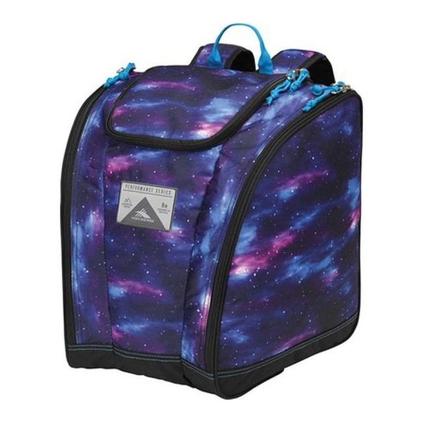 da14efc2b03c Shop High Sierra Trapezoid Boot Bag Cosmos Black Pool - US One Size (Size  None) - Free Shipping Today - Overstock - 25752874