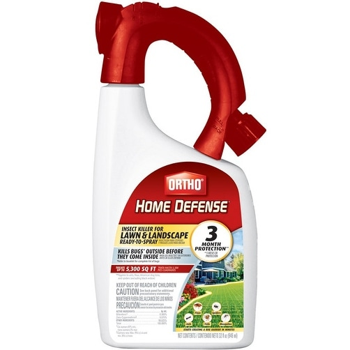 Ortho 0173810 Home Defense Insect Killer for Lawn & Landscape, 32 Oz