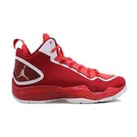 Nike Men's Air Jordan Super.Fly 2 PO Gym Red/White-Challenge Red 645058-602