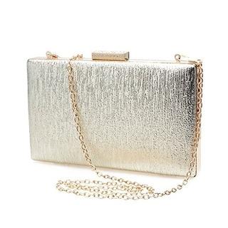 Eyekepper Ladies Fashion Simple Rectangular Clutch Evening Bags Purse Shoulder Bags