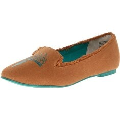 BC Footwear Women's Paint The Town Red Flat