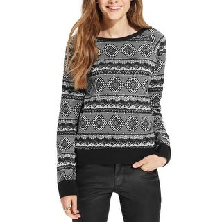 One Clothing Womens Juniors Pullover Sweater Knit Pattern