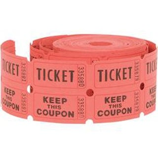 Ticket Roll 500Ct-