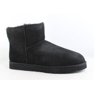 UGG Mens Classic Mini Black Snow Boots Size 17