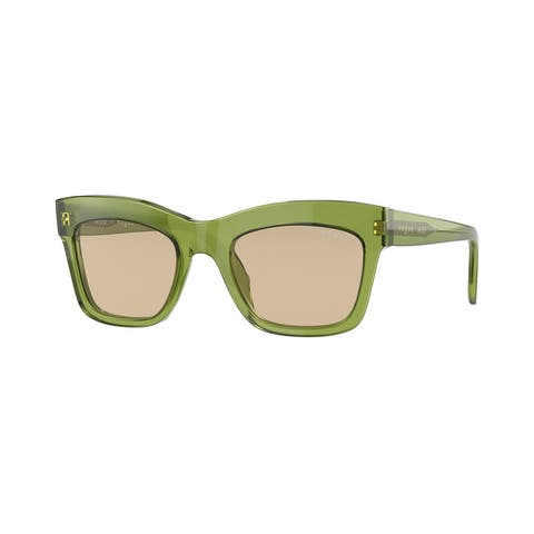 Vogue VO5392S 295393 50 Transparent Green Woman Pillow Sunglasses
