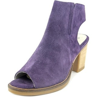 Bos & Co Celeste Women Open-Toe Suede Purple Bootie