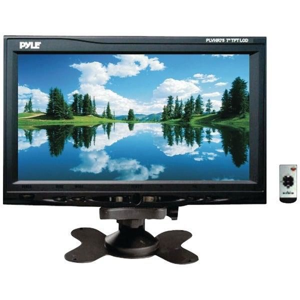 "PYLE PRO PLVHR75 7"" Headrest Monitor with Stand & Headrest Shroud"