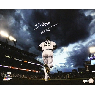 Nolan Arenado Autographed Colorado Rockies 16x20 Photo Sunset FAN