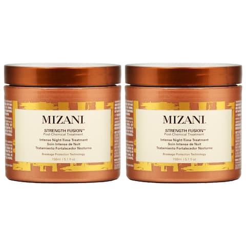 Mizani Strength Fusion Intense Night Time Treatment 5.1 oz (Pack of 2)