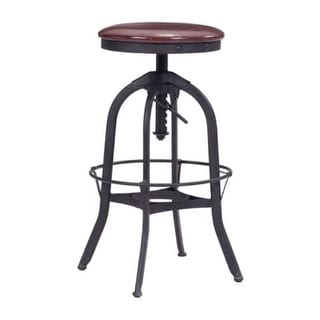 Zuo Modern 100441 Crete Bar Stool