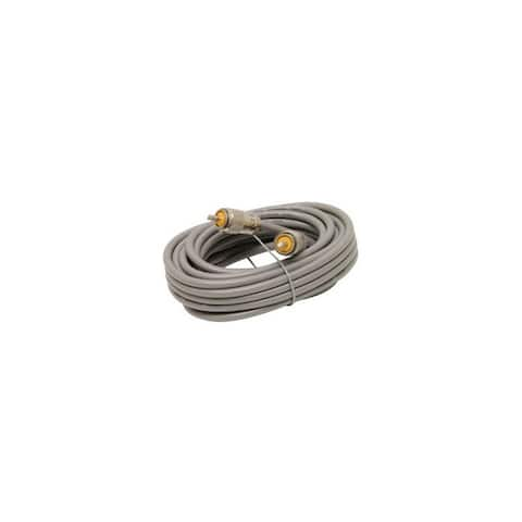 Astatic tm 302-10267 18 rg8x cable with pl259 connectors grey