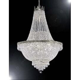 Swarovski Crystal Trimmed Chandelier Lighting H50 x W30