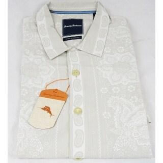 Tommy Bahama Bandana On The Run Continental Medium Silk Camp Shirt