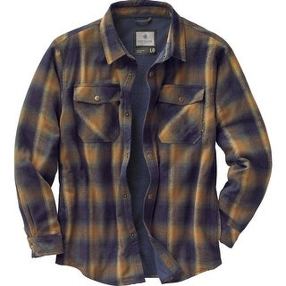 Legendary Whitetails Men's Archer Thermal Lined Flannel Shirt Jacket (Option: S)