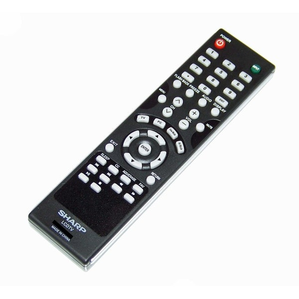 OEM Sharp Remote Control Originally Shipped With: LC60LE450, LC-60LE450, LC60LE450U, LC-60LE450U