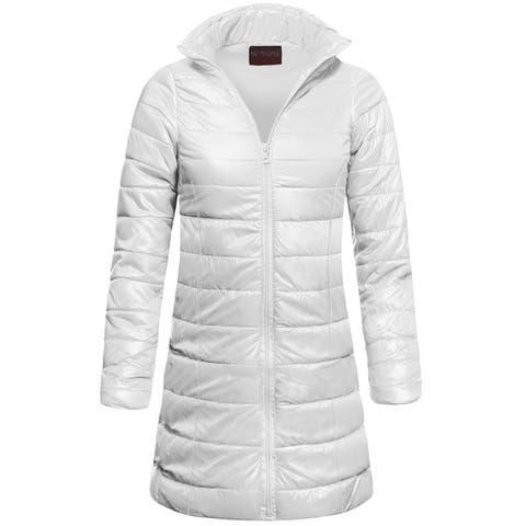 NE PEOPLE Womens Ultra Lightweight Packable Puffer Midi Jackets