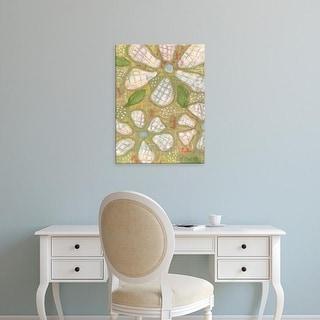 Easy Art Prints Karen Deans's 'Textured Petals II' Premium Canvas Art