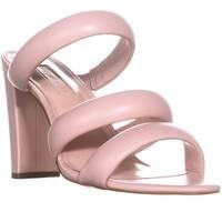 Avec Les Filles Mule Heeled Sandals, Pink