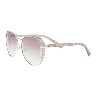 Jimmy Choo SHEENA/S 0010 Palladium Aviator Sunglasses - 58-17-140