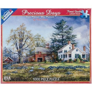 """Jigsaw Puzzle 1000 Pieces 24""""X30""""-Percious Days"""