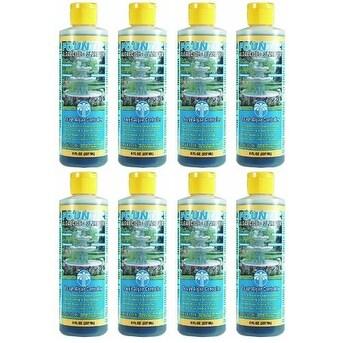 8 PACK - EasyCare FounTec Algaecide and Clarifier - 8 oz